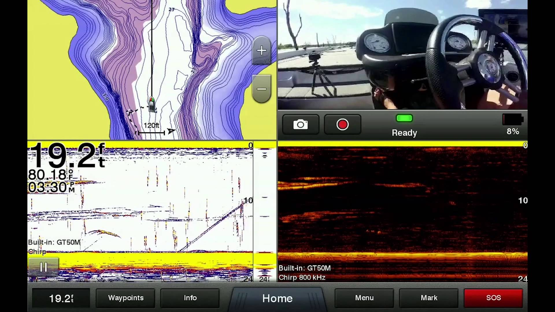 Garmin VIRB XE: Stream Video to Chartplotter