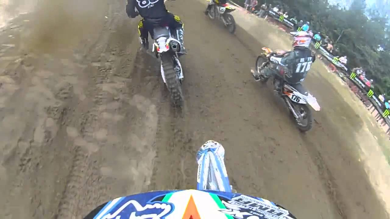 WASPcam action sports camera: First lap crashes!