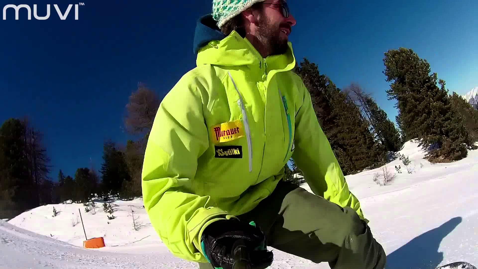 Veho MUVI K-Series – Snowboarding Selfie: Kreischberg, Austria