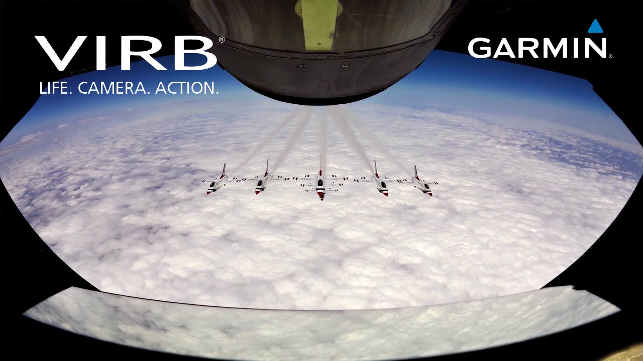Garmin VIRB Elite: Refueling the U.S.A.F. Thunderbirds