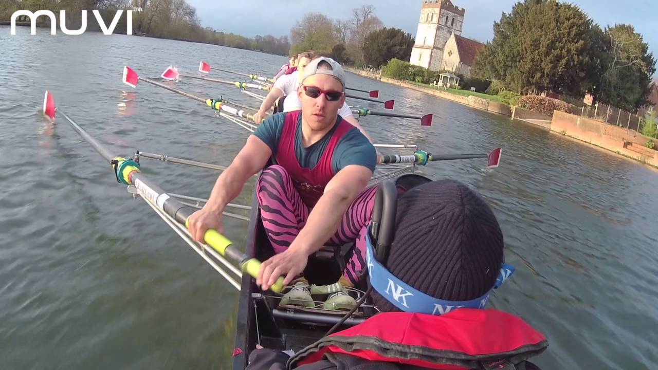 Muvi K-Series K-2 Pro Wi-Fi Handsfree Action Camera with Marlow Rowing Club – powered by Veho