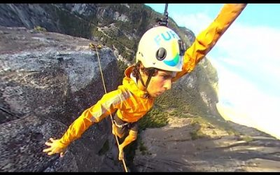 360fly: Caio Afeto takes to the highland in Yosemite