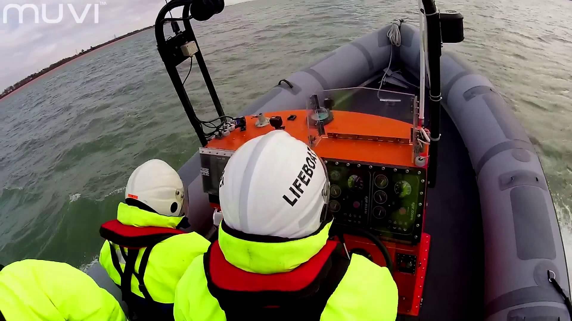 Veho MUVI K-Series – On Patrol with Hamble Lifeboats