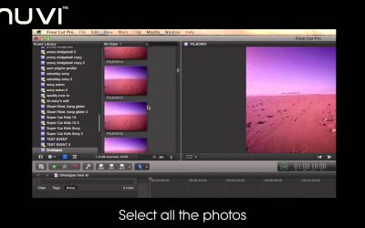 Veho How To: Make a Time Lapse video using your MUVI and Final Cut Pro