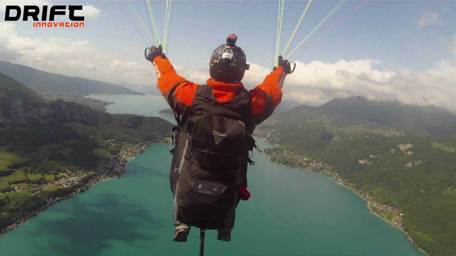 Drift HD170, Paragliding