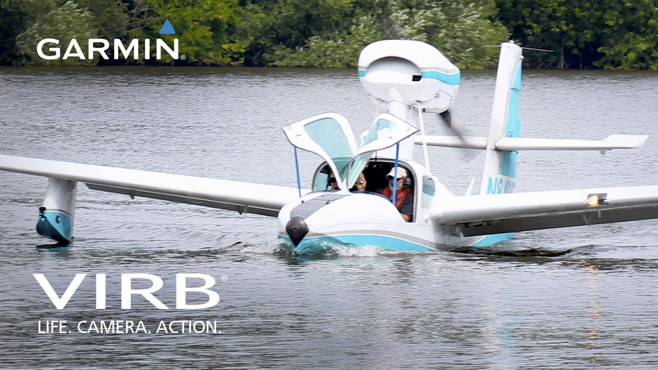 Garmin VIRB: Landing a Seaplane at Oshkosh