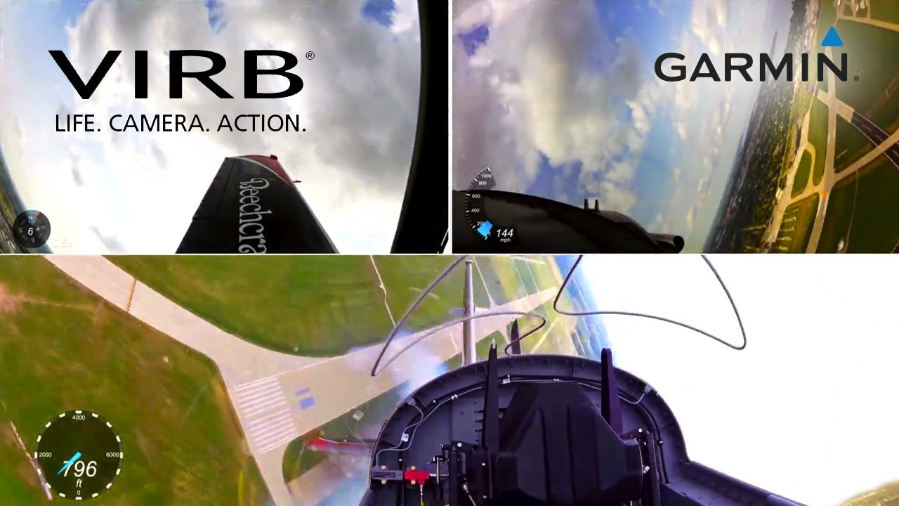 Garmin VIRB Elite: Flying Aerobatics with the T6 Texan