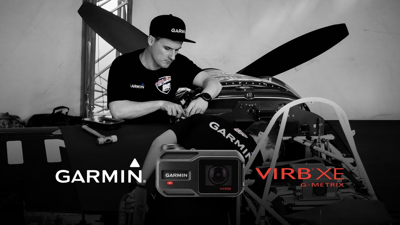 Garmin VIRB XE: Red Bull Air Race Plane