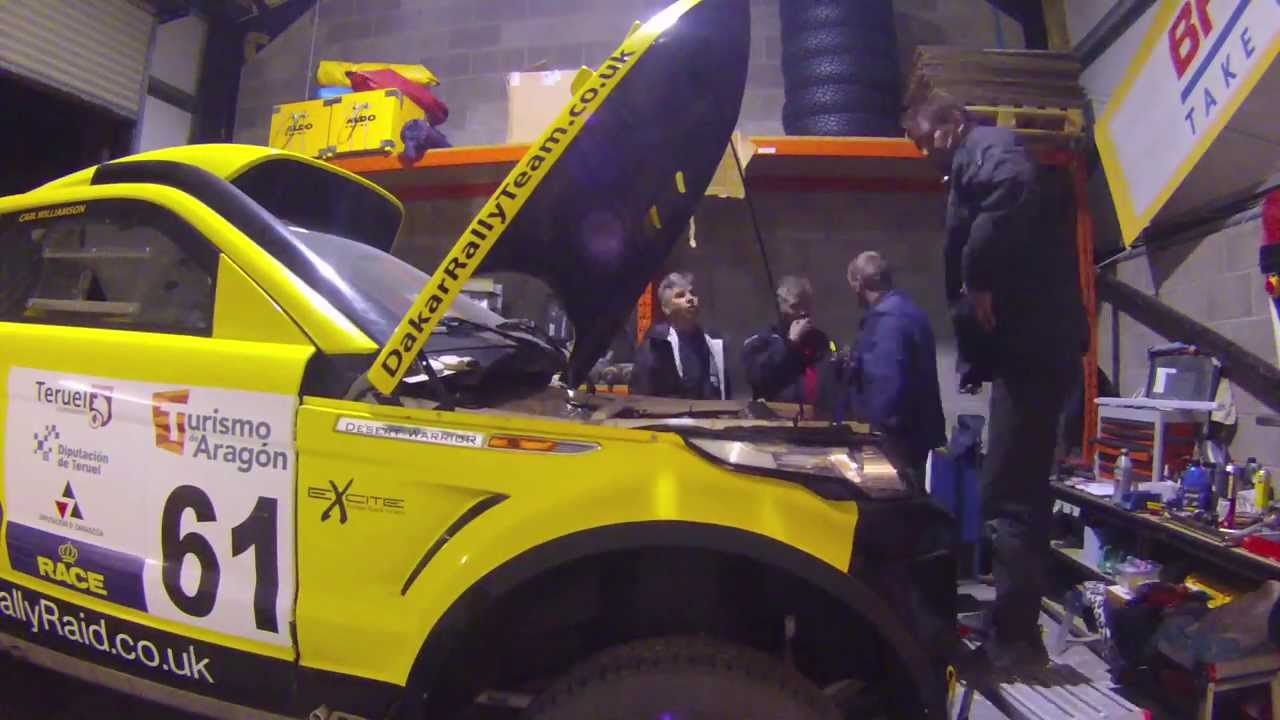 WASPcam Action Sports Camera: Building a Dakar Rally truck