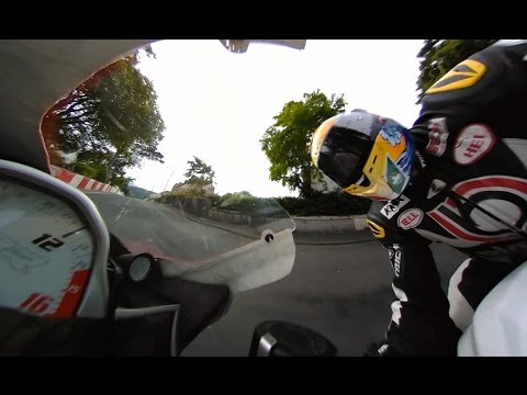 360fly: Brandon Cretu Racing pushing it to the limit at the Isle of Mann TT.