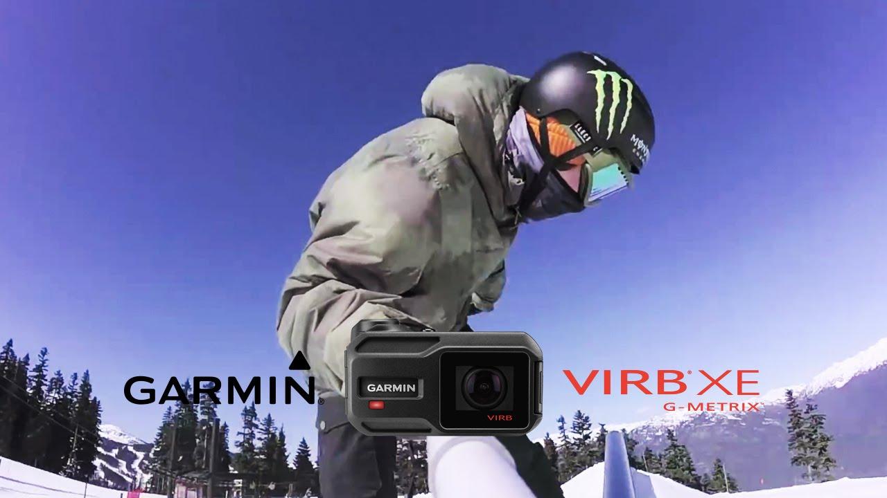 Garmin VIRB XE: Snowboarding Whistler