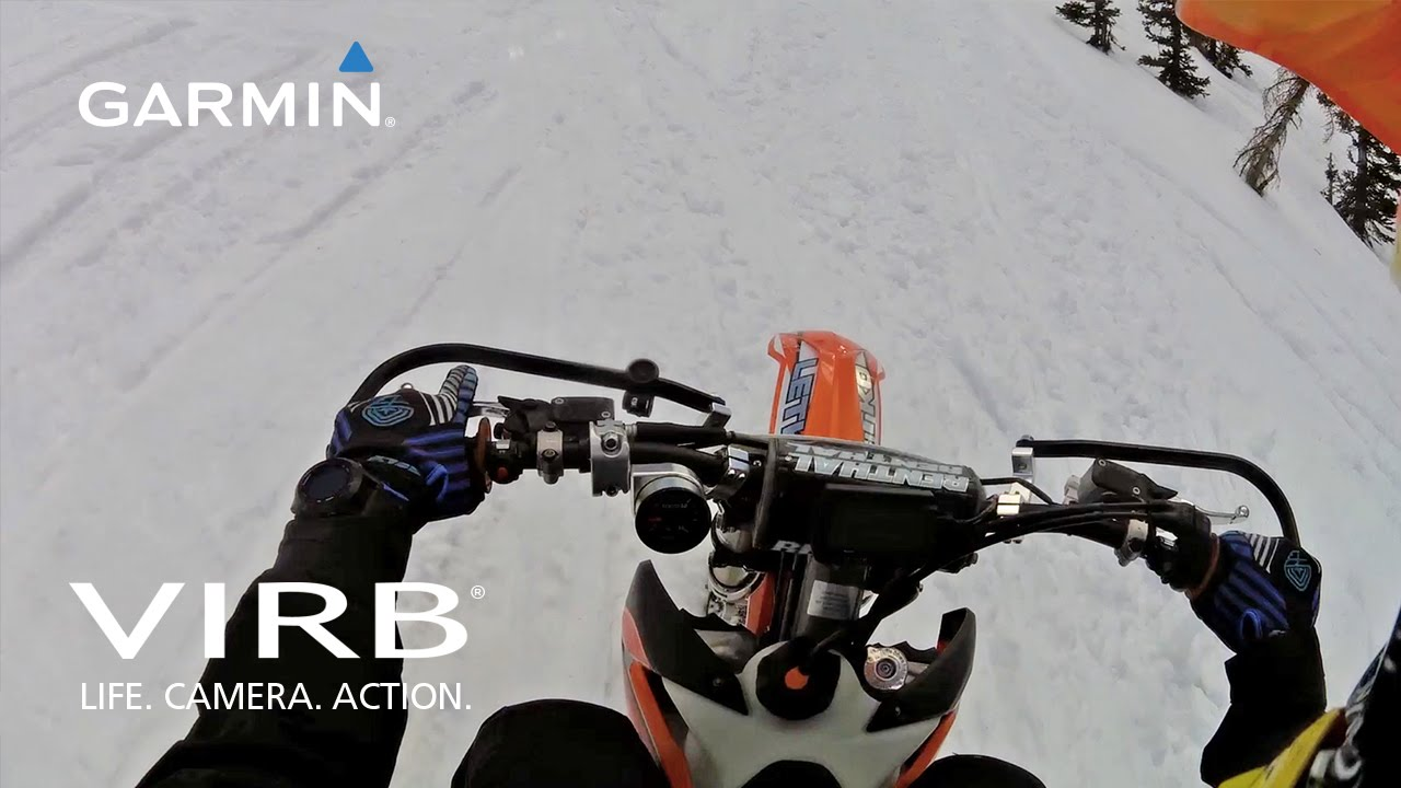 Garmin VIRB: Snow bike