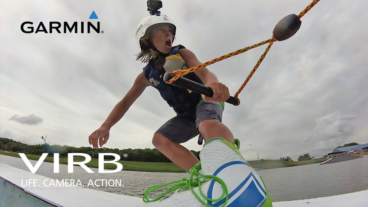 Garmin VIRB XE: WWA Wake Park World Champion Brett Powell