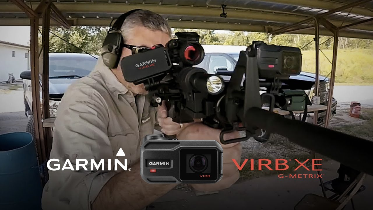 Garmin VIRB XE: Shooting Rifles in Slow-Mo