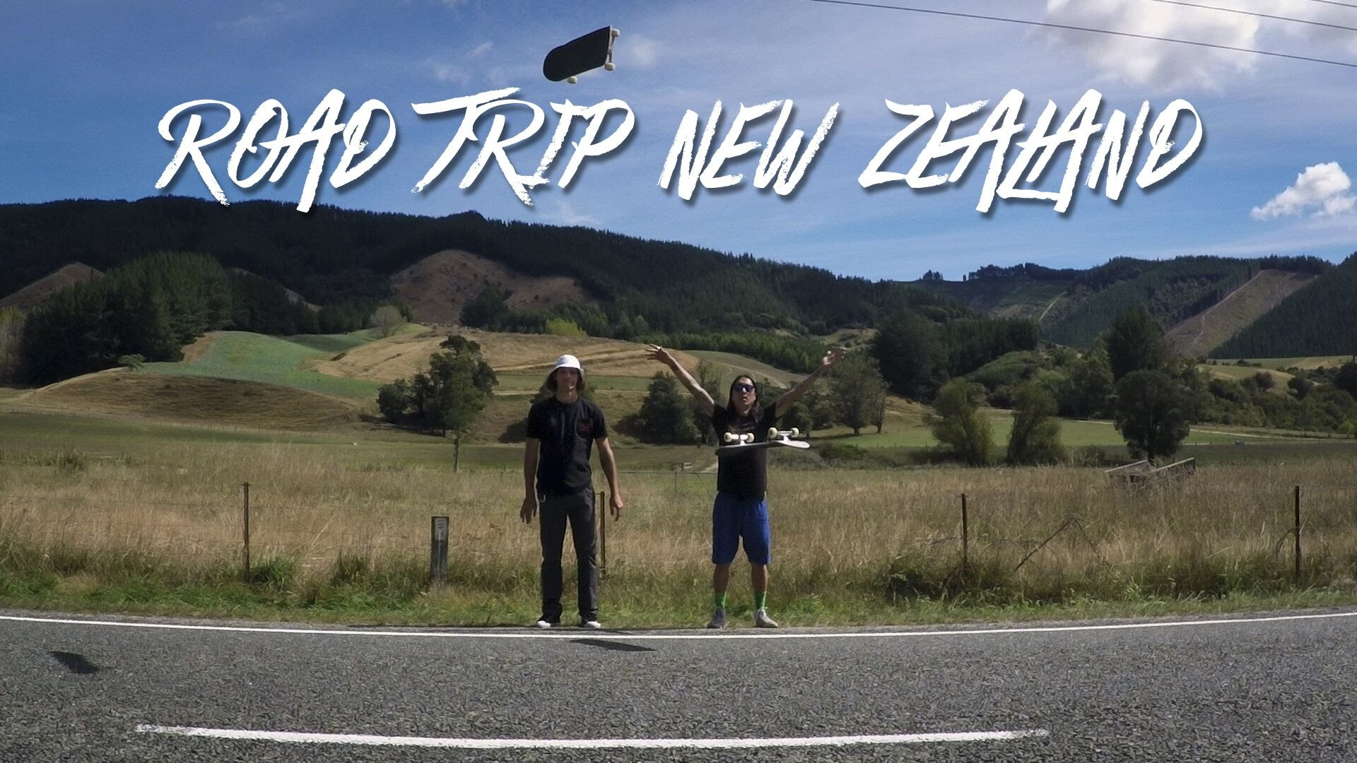 "GoPro Skate: Road Trip New Zealand – ""Renegade Camping"" – Ep. 1"