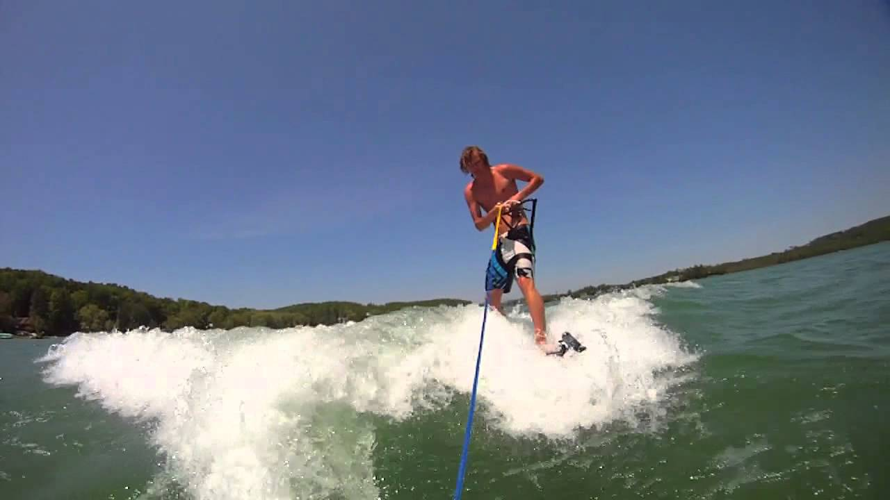 Wakeboarding POV with the Drift HD170 Stealth Camera