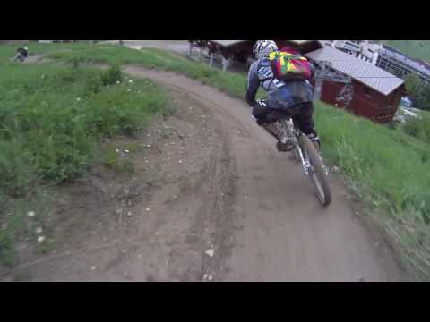 Downhill mountainbiking filmed with the Drift HD170
