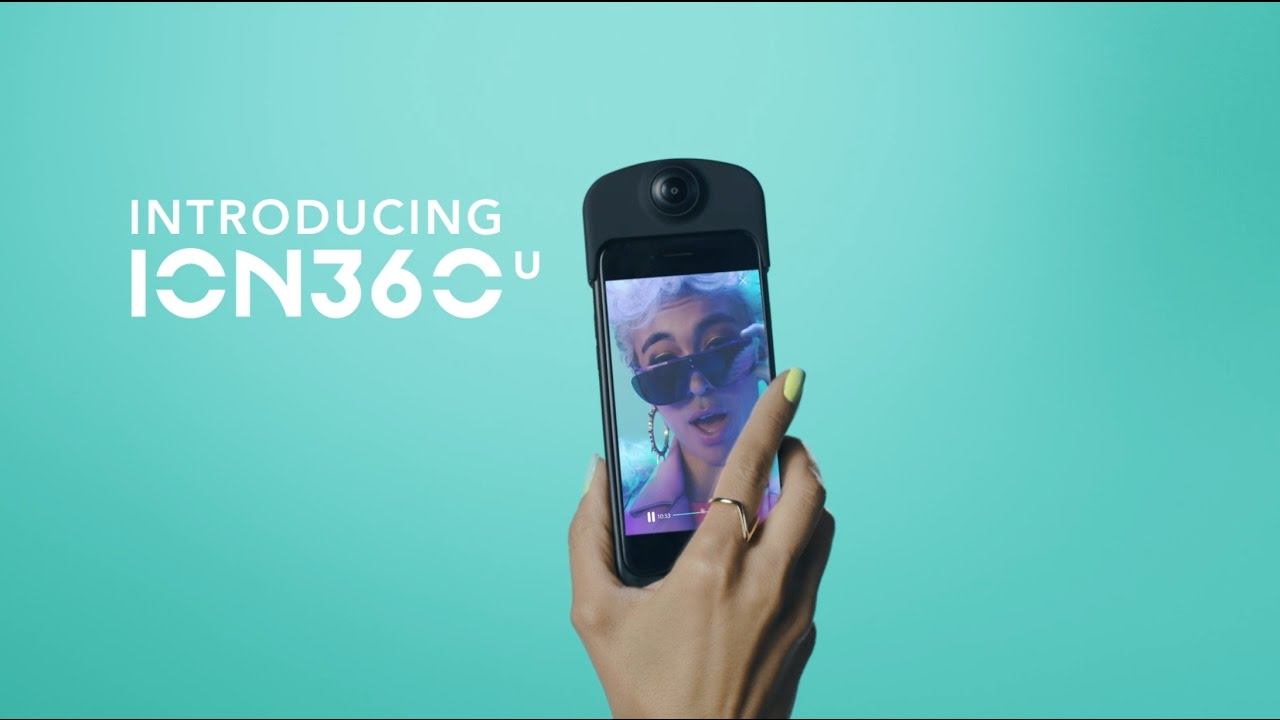 ION360 U: Snap, Shoot, Explore.