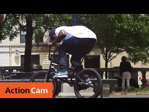 Nigel Sylvester BMX in Brooklyn | Action Cam | Sony