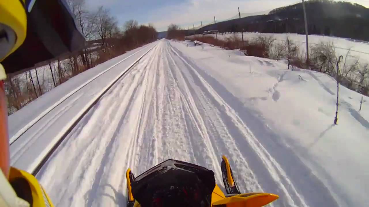 Ski-Doo Snowmobiling in Western New York – Drift HD170