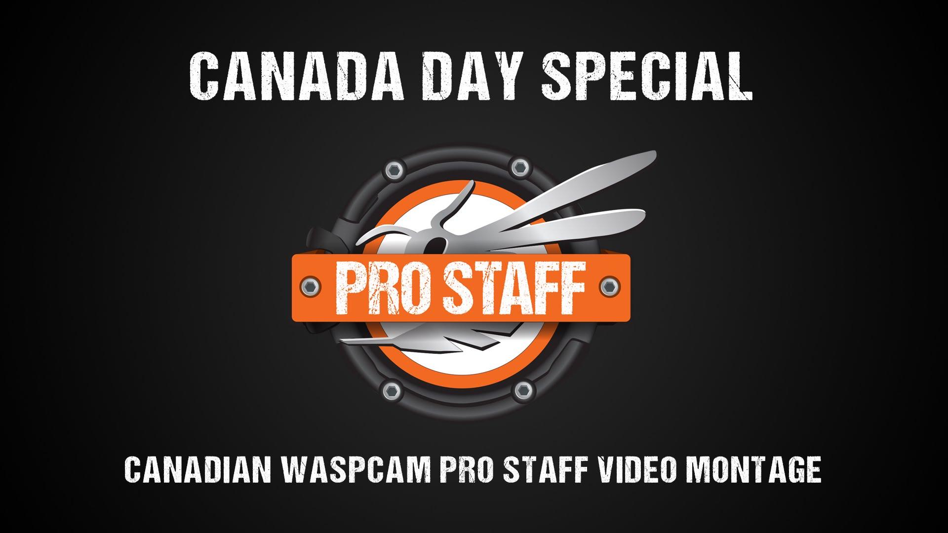 WASPcam – Canada Day Montage