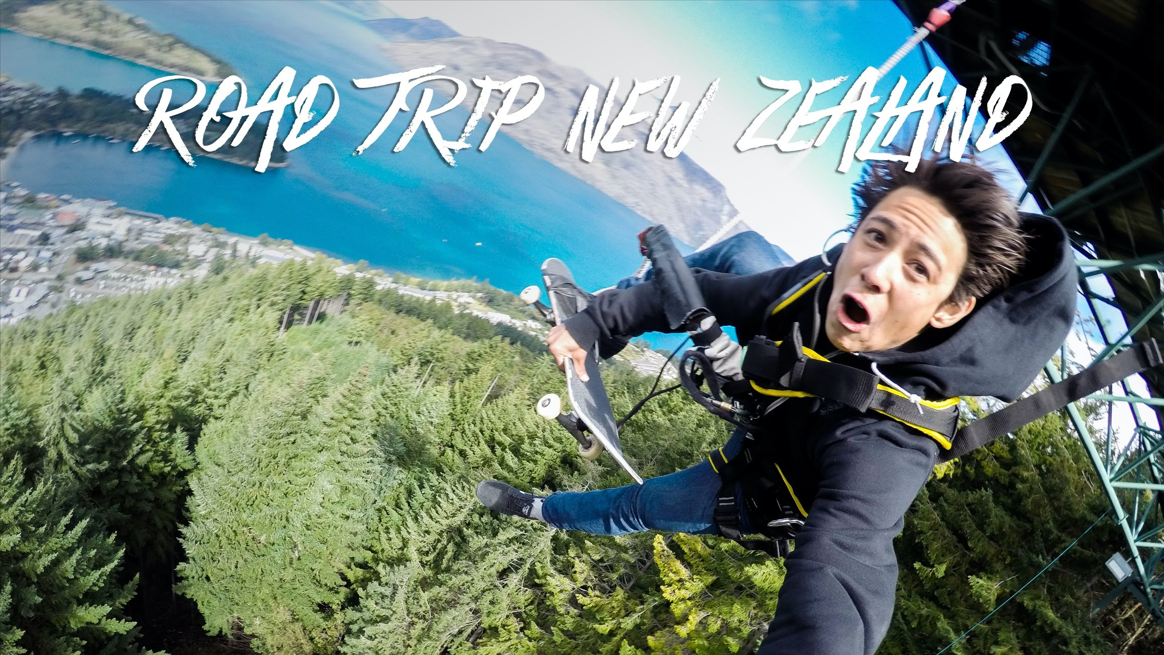 "GoPro Skate: Road Trip New Zealand – ""Bungee Boys"" – Ep. 4"