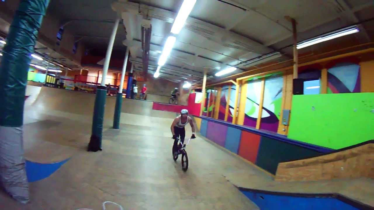 BMX Indoor Park 1080p Action – Drift HD