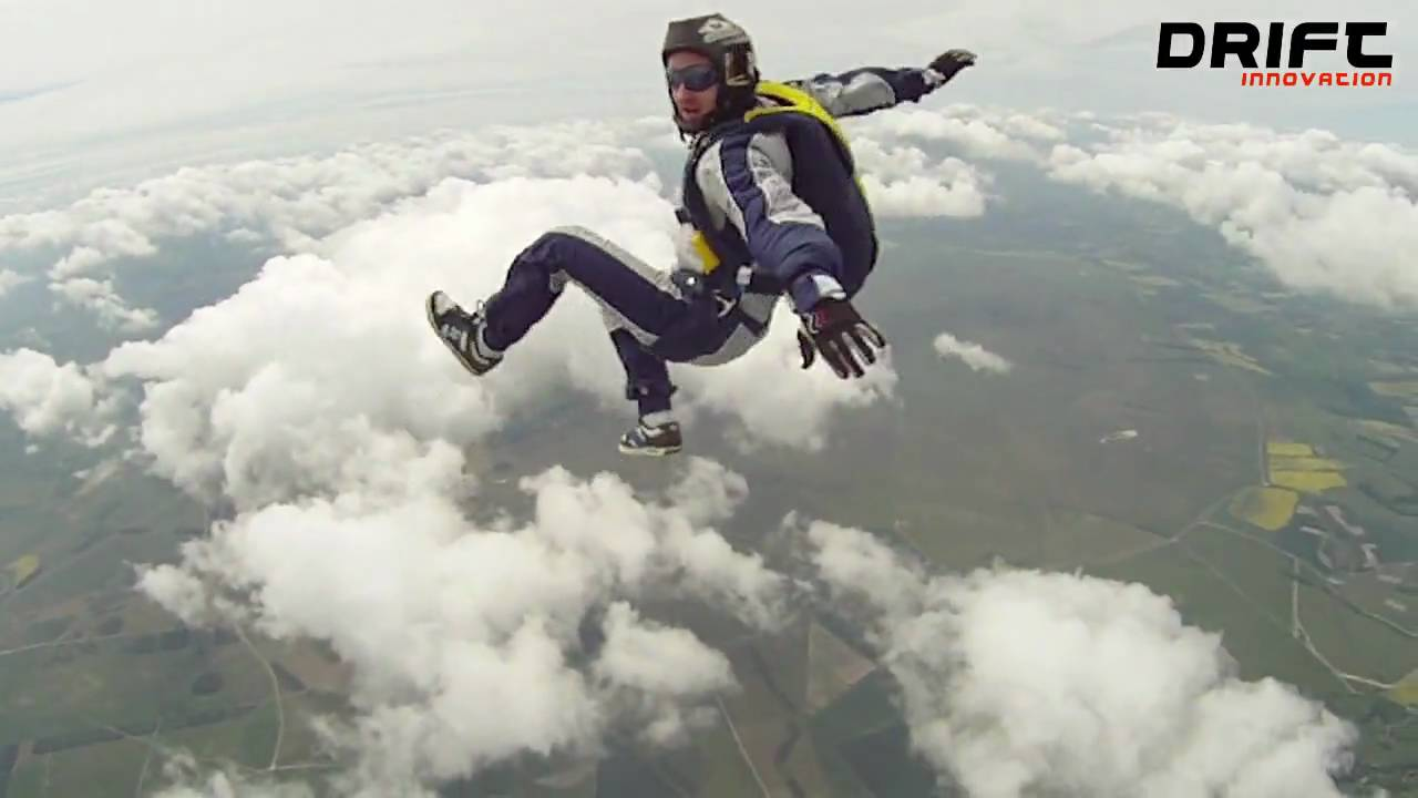 Drift HD170, Skydiving