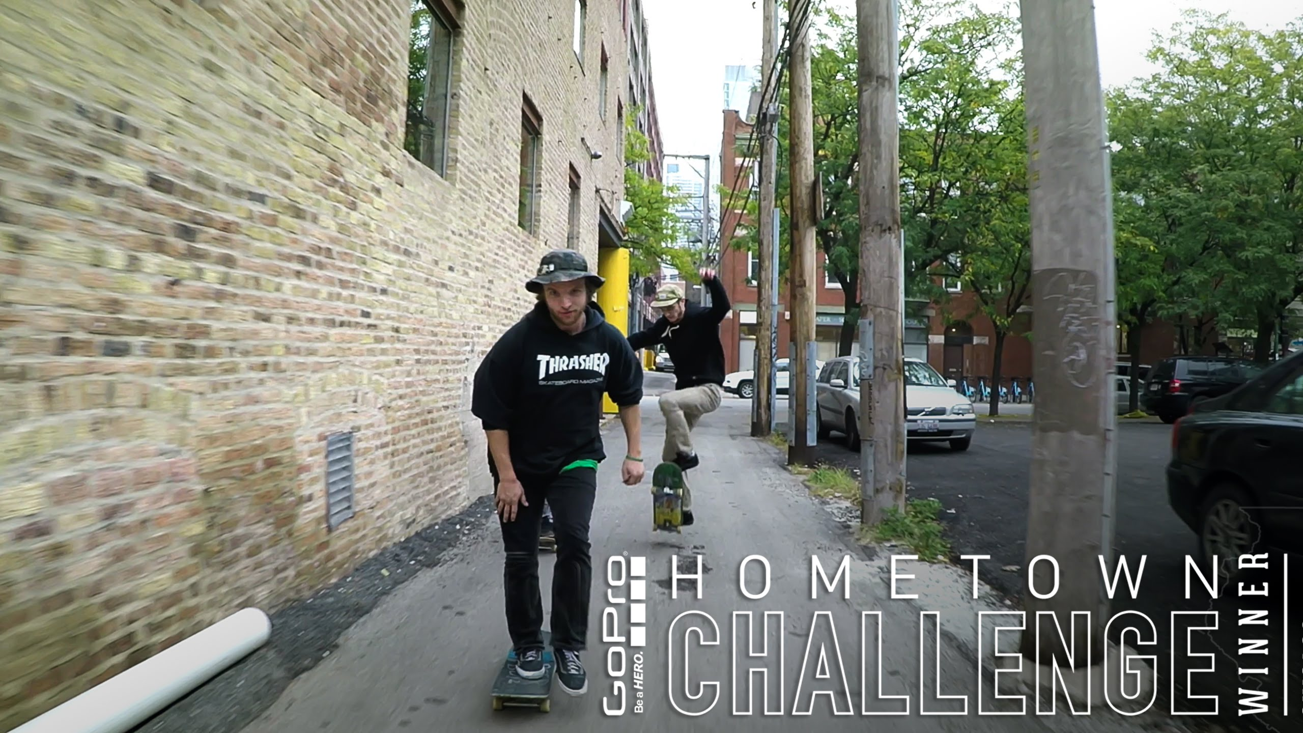 GoPro: Chicago Skate – SLS Hometown Challenge Winner