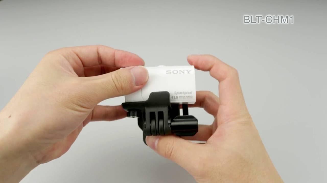 BLT-CHM1 Clip Head Mount   Action Cam   Sony