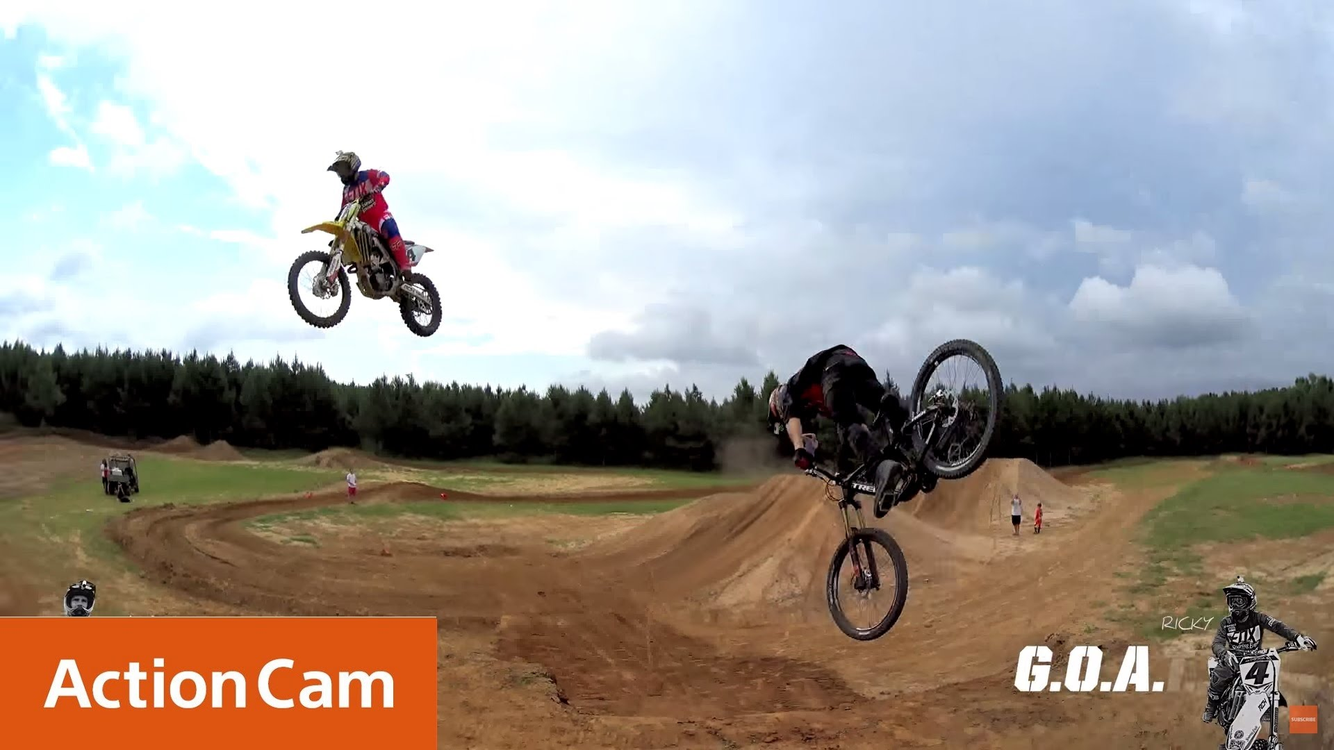 Action Cam | Ricky Carmichael & Cam McCaul – A Game of GOAT – 4K | Sony