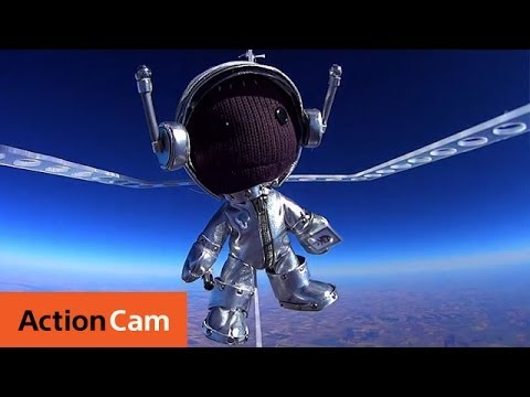 Sackboy's journey to the space | Action Cam | Sony