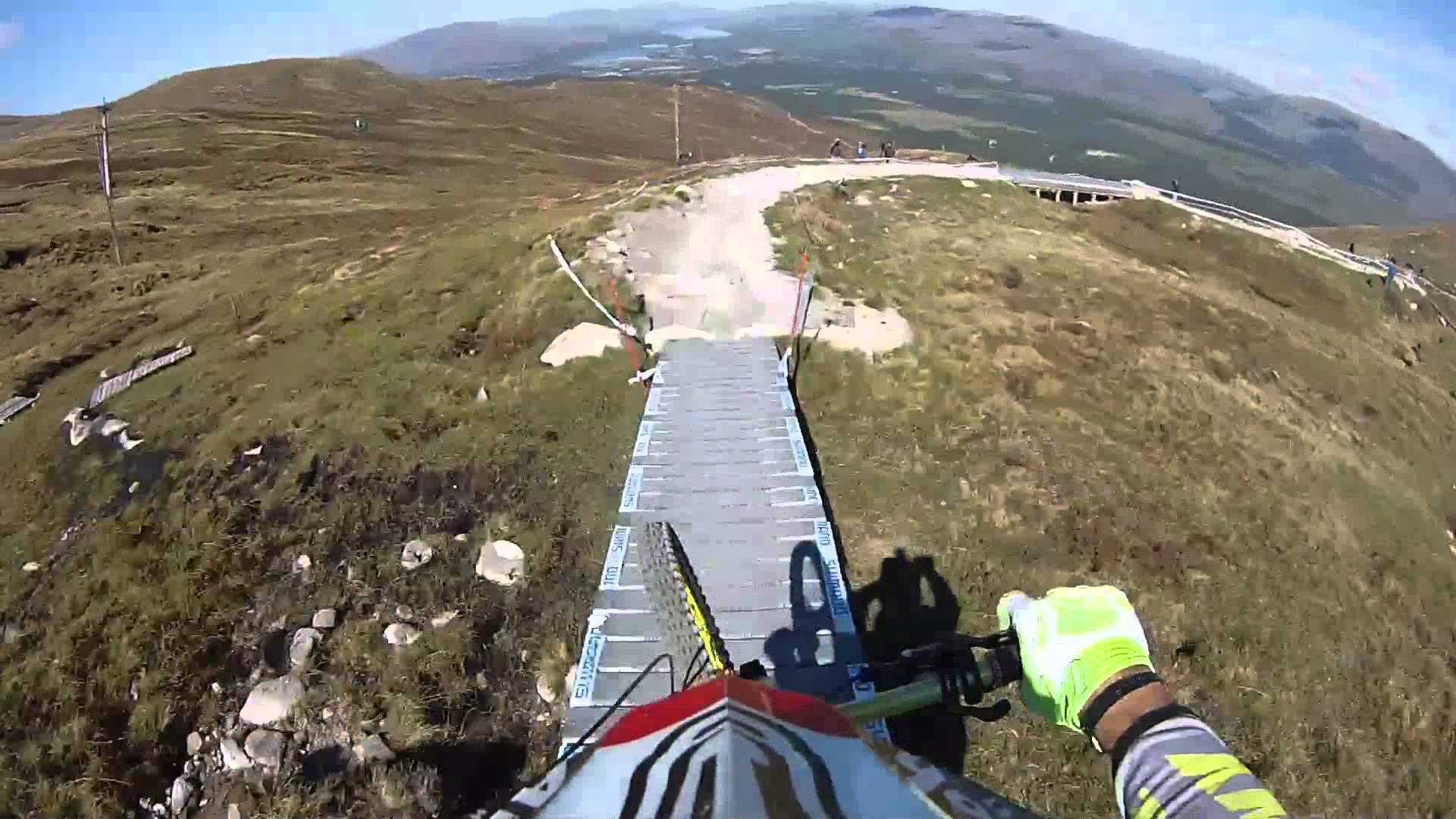 Drift HD Ghost: Cedric Gracia – UCI Mountain Bike World Cup – Fort William 2013