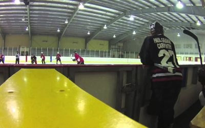 WASPcam action sports camera: Ice Hockey