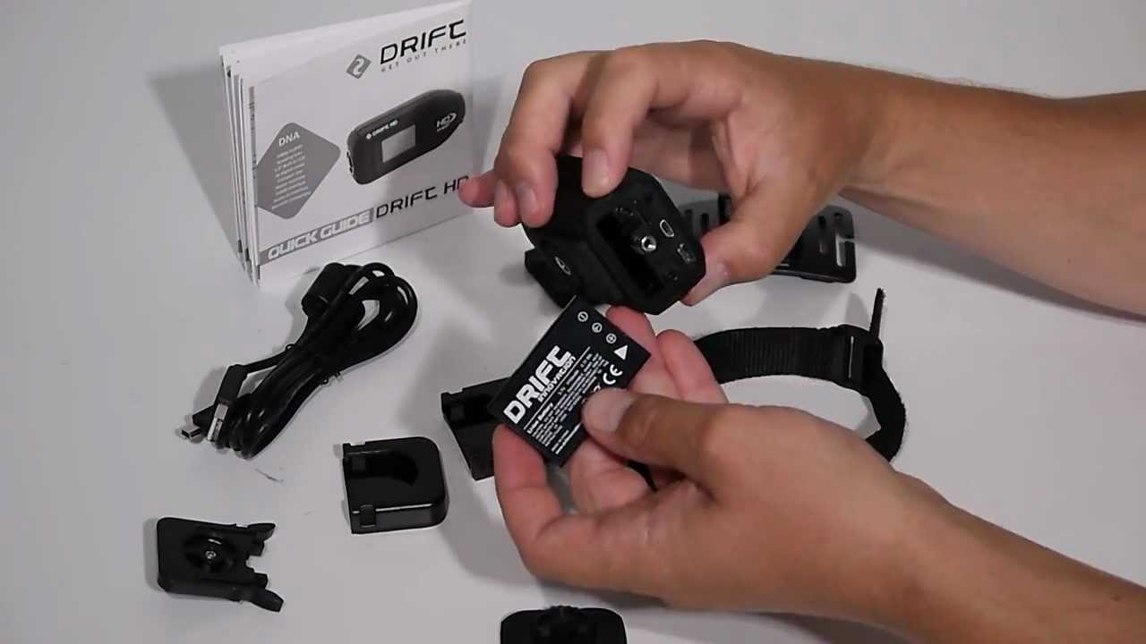 Unboxing the New Drift HD Camera