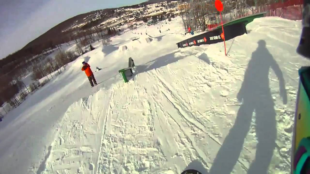 Drift HD170 60 FPS in the Terrain Park