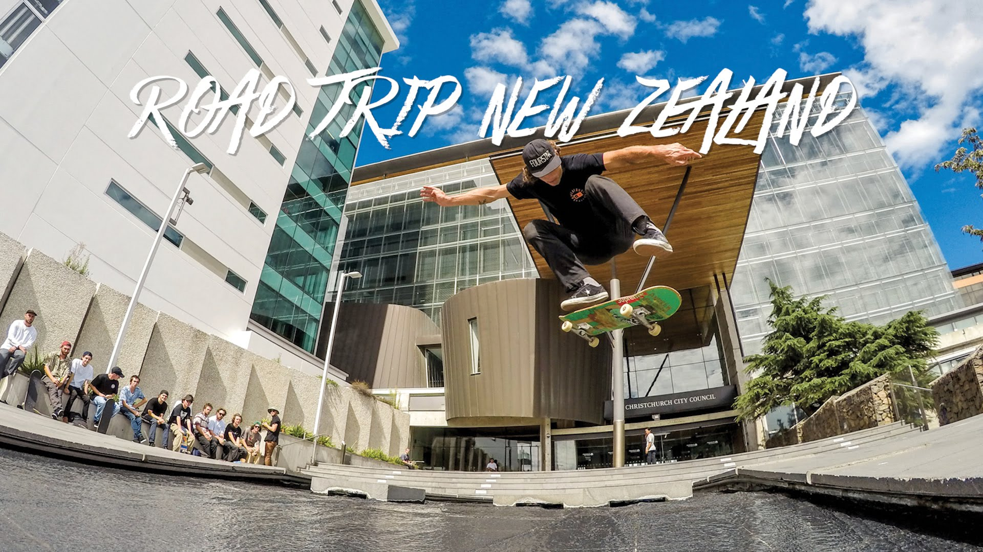 """GoPro Skate: Road Trip New Zealand – """"Life Hammers"""" – Ep. 6"""