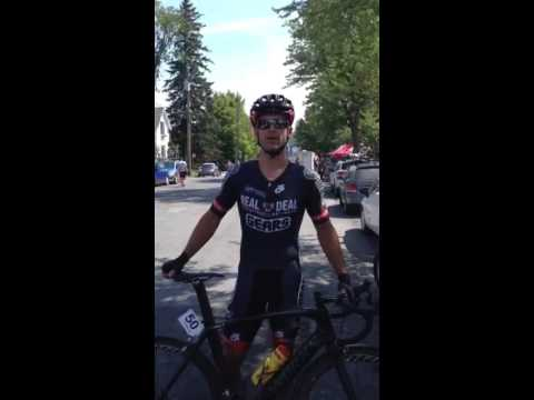 WASPcam: Ed Veal at Canadian Cycling Championships Quebec – interview