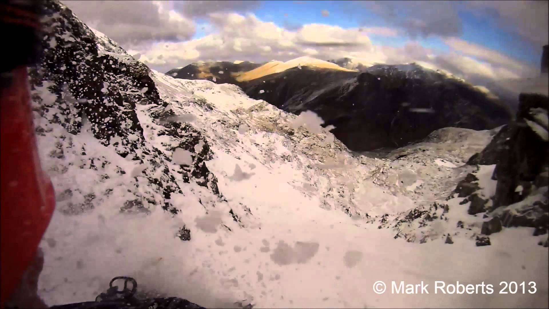 Climber Records 300ft fall with Drift HD Camera