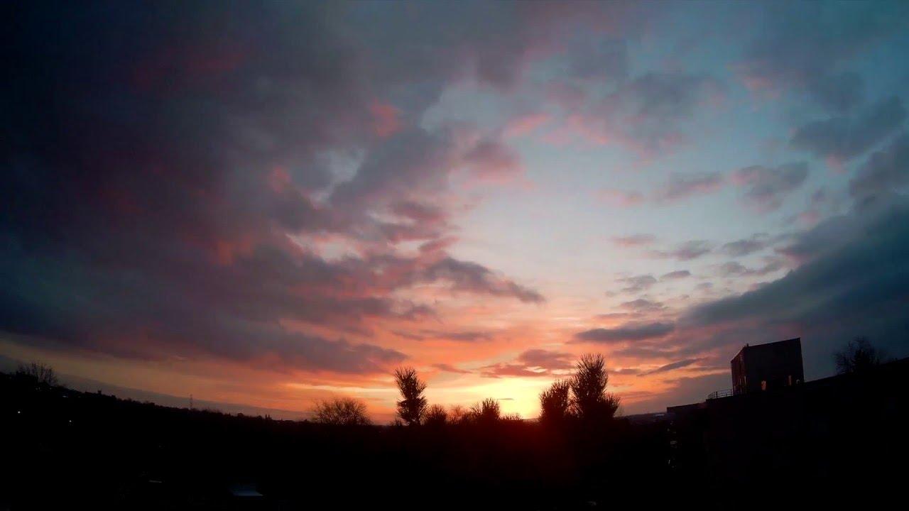 WASPcam Sunrise Time-lapse