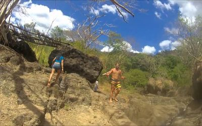 WASPcam action-sports camera: El Salvador Cliff Jumping