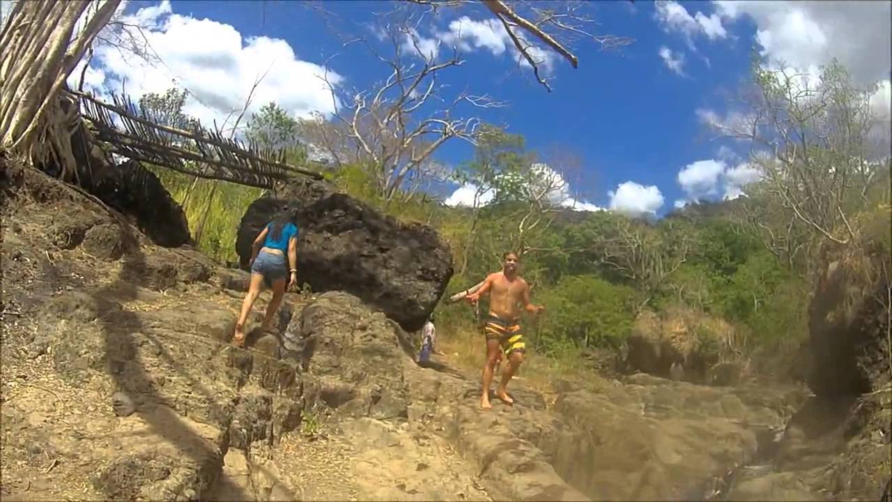 WASPcam action-sports camera: El Salvador Cliff Jumping