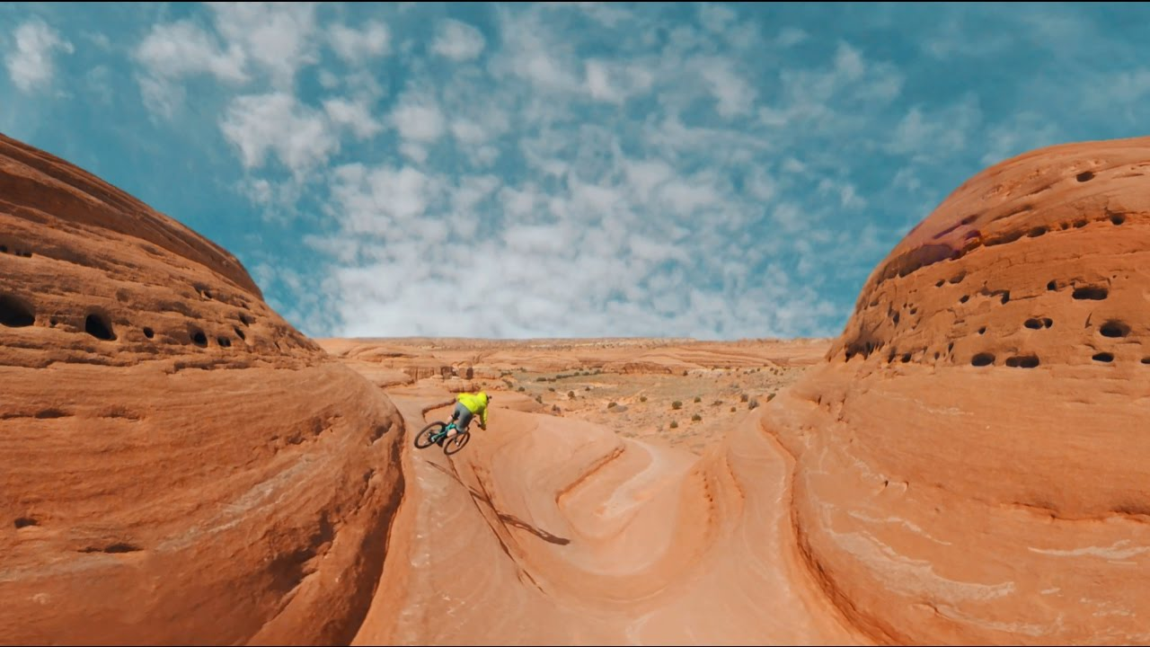 Garmin VIRB 360: Mountain Biking Bartlett Wash, Moab, UT