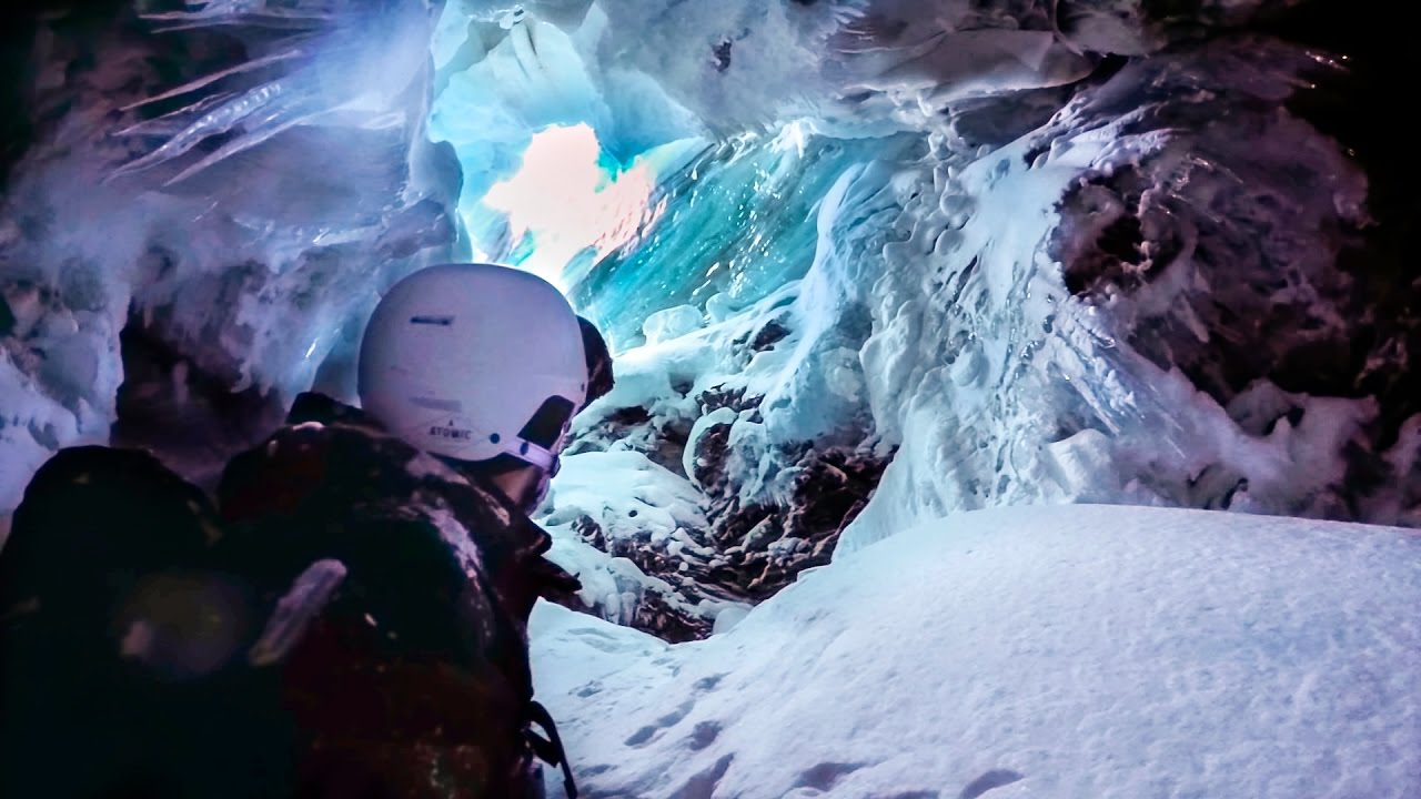 GoPro Awards: Skier Falls Into Crevasse