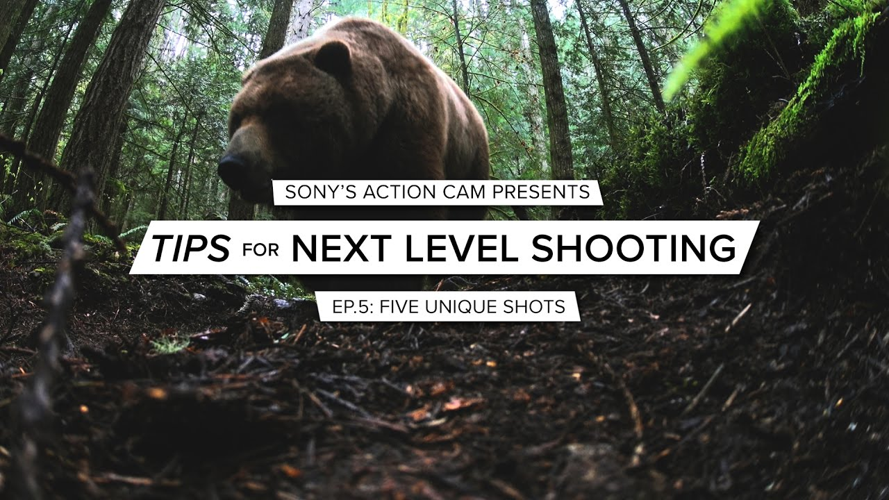 Action Cam | Tips for Next Level Shooting | Ep. 5 Unique Shots | Sony