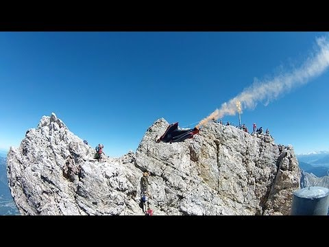 Drift HD Ghost: Wingsuit Across The Austrian Border WIth Marco Waltenspiel