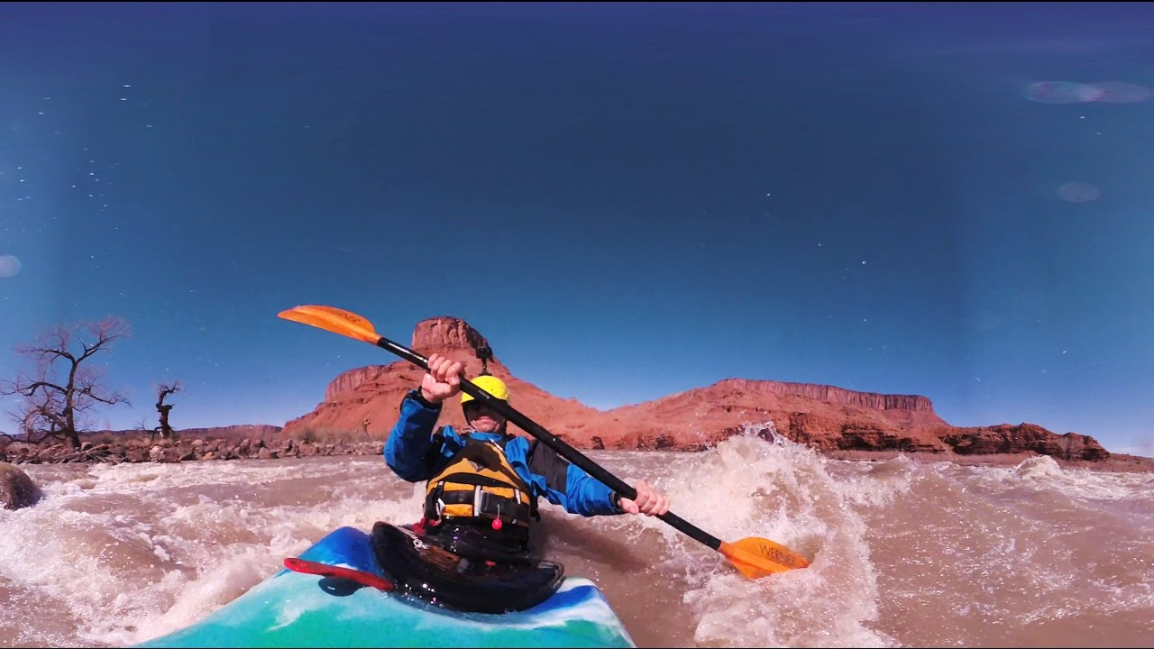 Garmin VIRB 360: Whitewater Kayaking Near Moab, UT