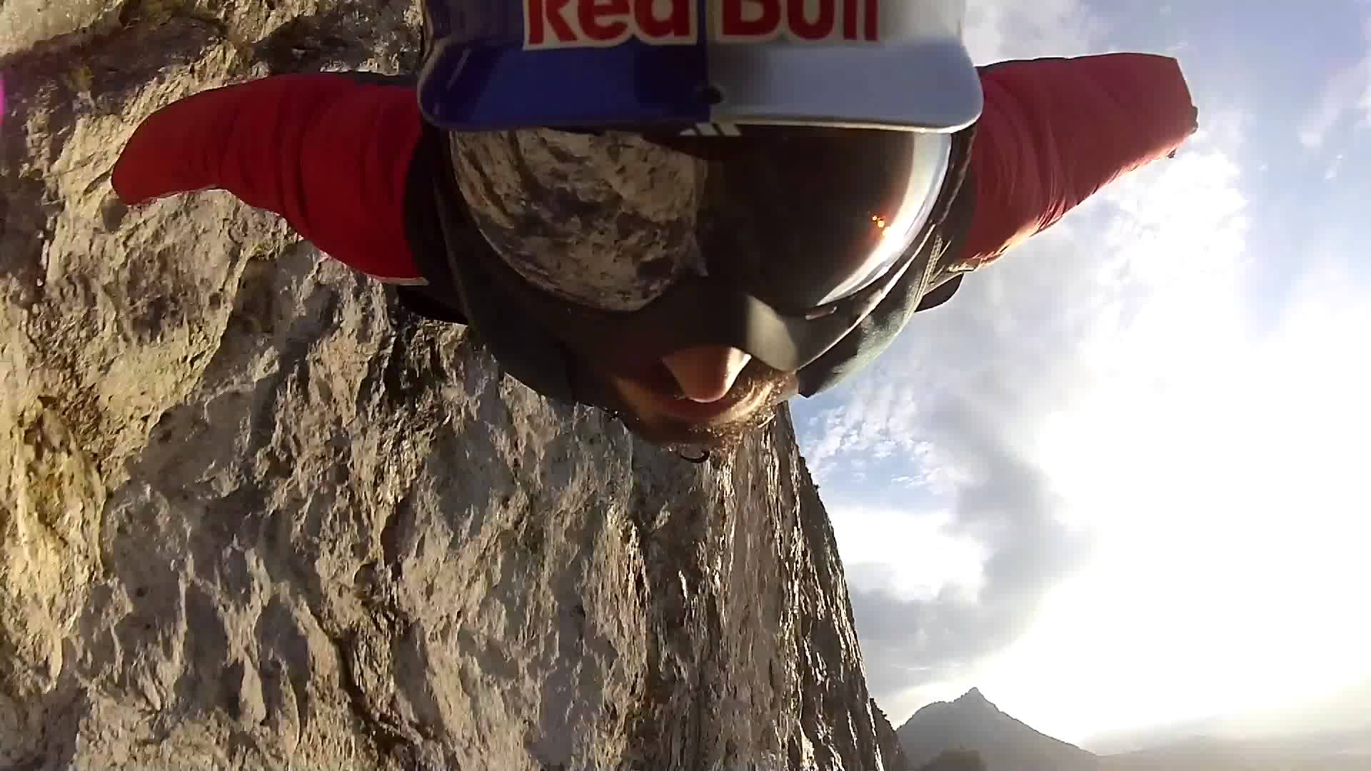 Drift HD Ghost: Red Bull Wingsuit Flying, Base Jumping and Flying a Jet