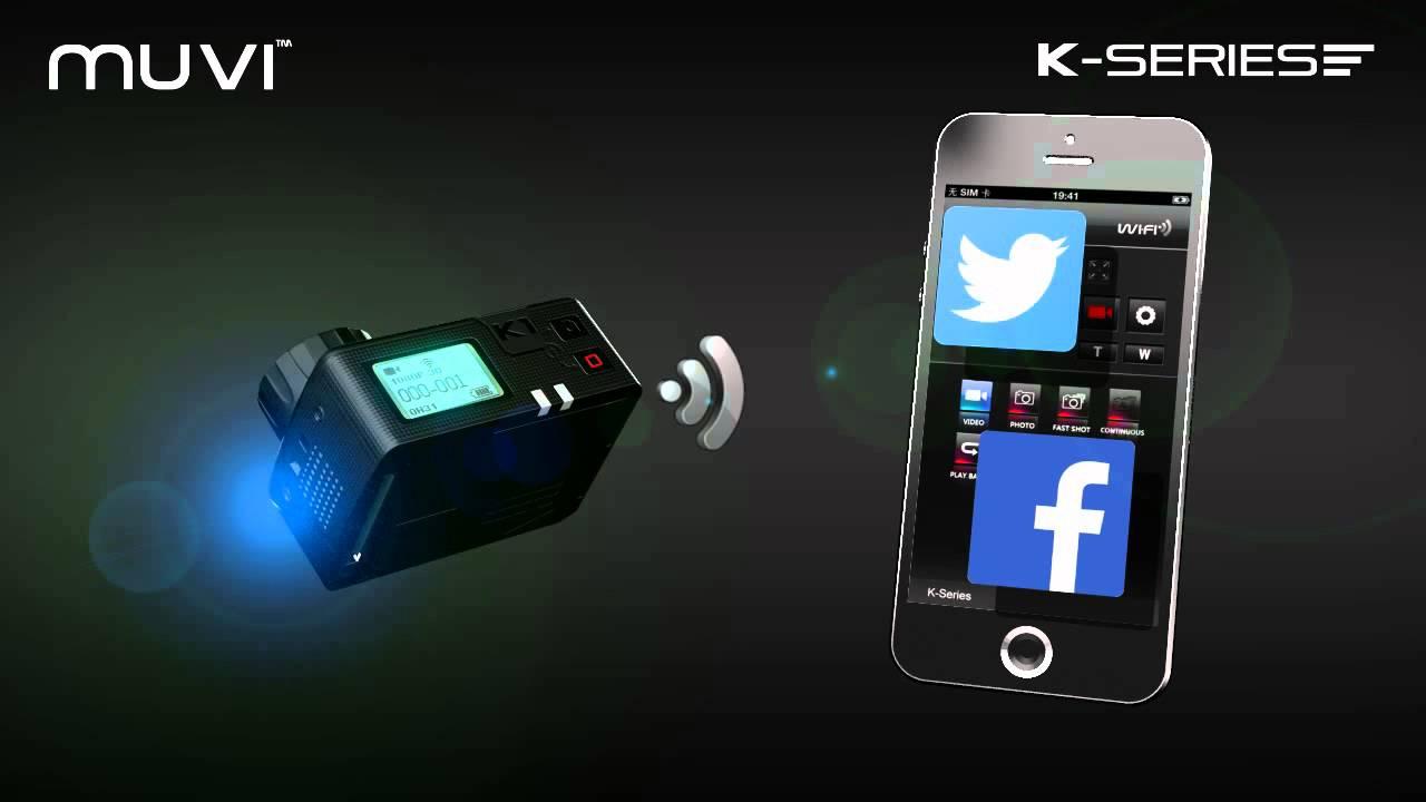 Veho VCC-006-K1 – MUVI K-Series K1 Wi-Fi Handsfree Camera