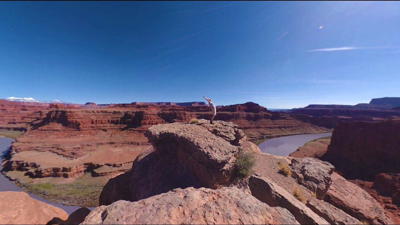 Garmin VIRB 360: Reveling in Nature Outside Moab, UT